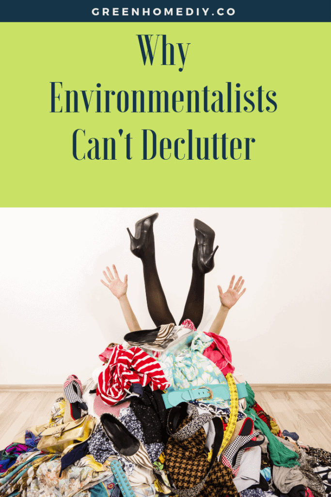 why environmentalists can't get rid of clutter