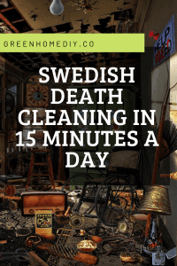 Swedish death cleaning in 15 minutes a day. Image by levelord at Pixabay.