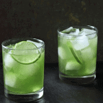 Dandelion Lime Cooler from The Bitten Word