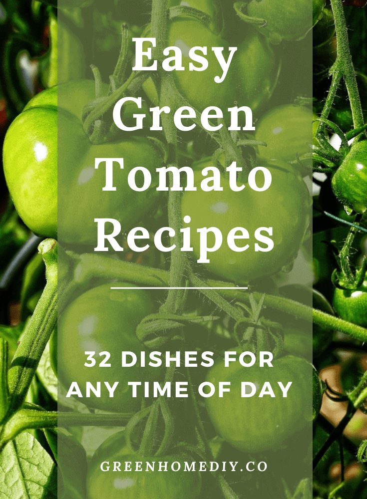 easy green tomato recipes for all day long