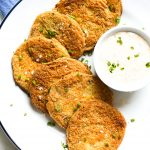 Paleo Fried Green Tomatoes Defined Dish