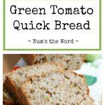 Green Tomato quick bread