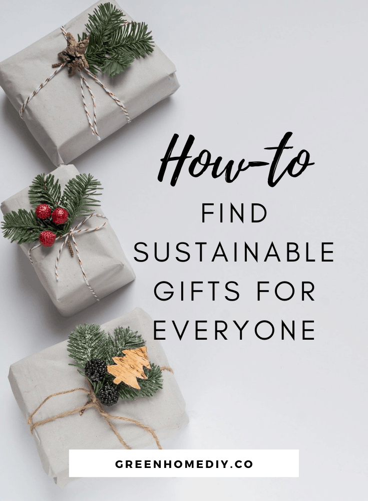 sustainable gifts guide pinterest