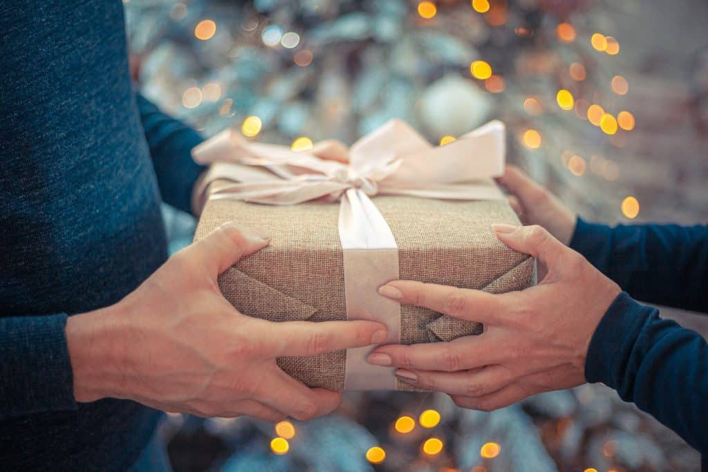 sustainable gift giving