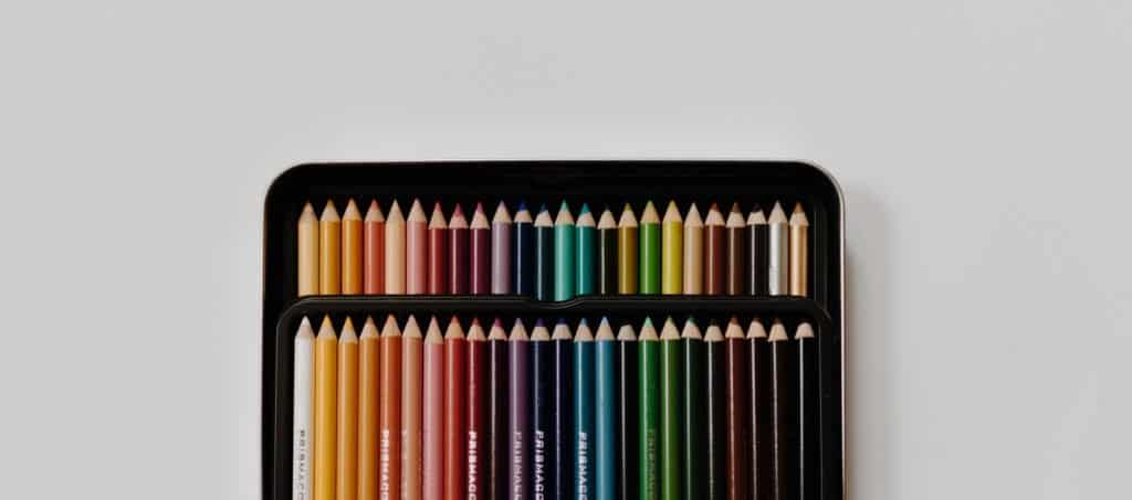colored pencils kit gift