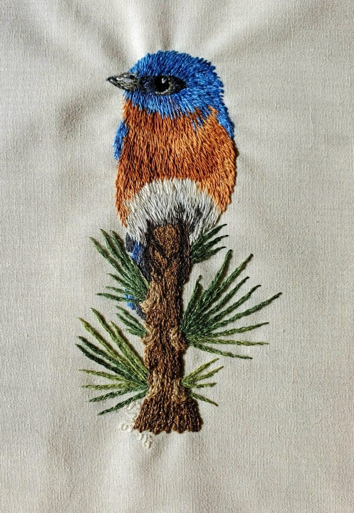 Love your home: fun with embroidery